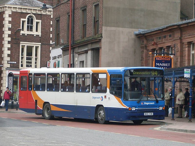 Stagecoach 20451 (M451VCW), West Tower Street, Carlisle
