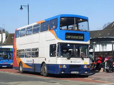 Stagecoach 16355 (N355MPN), West Tower Street, Carlisle, 8th April 2011