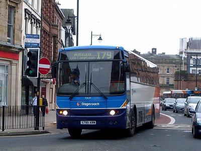 Stagecoach 52629 (S799KRM), English Street, Carlisle, 21st February 2011