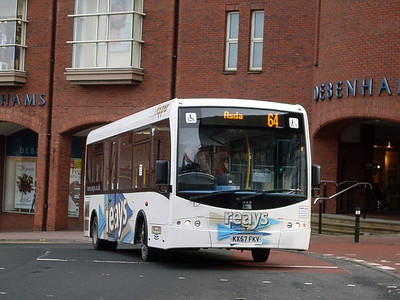 Reays KX57FKV, West Tower Street, Carlisle 8th February 2011