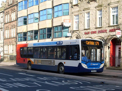 Stagecoach 24118 (PX59AZD), Lowther Street, Carlisle 17th January 2011