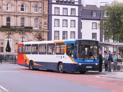 Stagecoach 20959 (R959XVM), English Street, Carlisle, 14th April 2011
