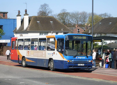 Stagecoach 20436 (M236TBV), West Tower Street, Carlisle, 8th April 2011