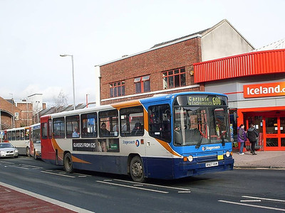 Stagecoach 20907 (R907XVM), Lowther Street, Carlisle 8th February 2011