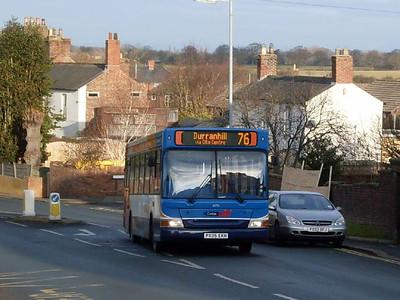 Stagecoach 34714 (PX05EKH), Victoria Road, Carlisle 24th January 2011