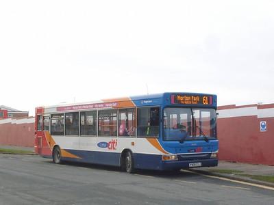 Stagecoach 34692 (PX05ELJ), Pennine Way, Carlisle 8th February 2011