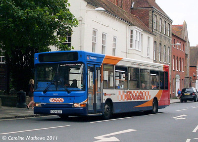 Stagecoach 34523 (GX04EXT), Chichester, 26th July 2011