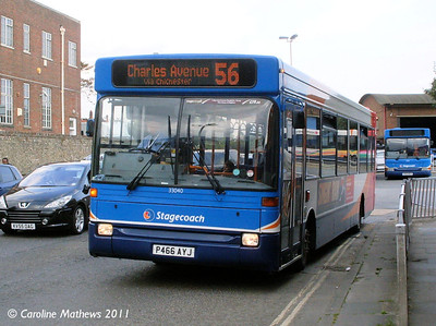 Stagecoach 33040 (P466AYJ), Chichester, 26th July 2011