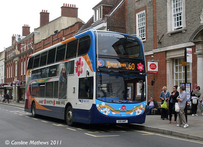 Stagecoach 19887 (GX11AXP), Chichester, 26th July 2011