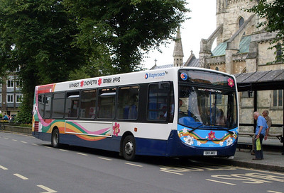 Stagecoach 27741 (GX11AKU), Chichester, 26th July 2011
