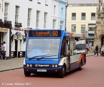 Stagecoach 47648 (GX58GJZ), Chichester, 26th July 2011