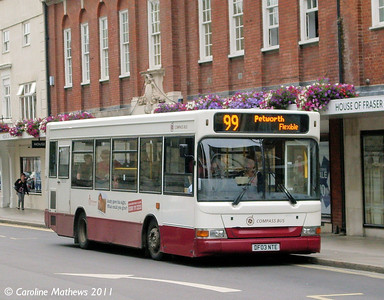 Compass Bus DF03NTE, West Street, Chichester, 26th July 2011
