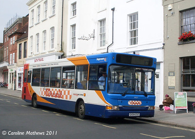 Stagecoach 34527 (GX04EXZ), Chichester, 26th July 2011