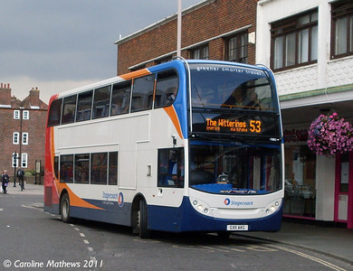 Stagecoach 19882 (GX11AKG), Stockbridge Road, Chichester, 26th July 2011