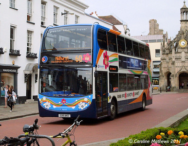 Stagecoach 19886 (CX11AKO), West Street, Chichester, 26th July 2011