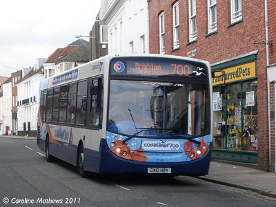 Stagecoach 27643 (GX10HBV), Chichester, 26th July 2011