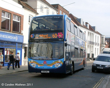 Stagecoach 19883 (GX11AKJ), South Street, Chichester, 26th July 2011