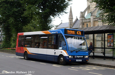 Stagecoach 47646 (GX58GJV), Chichester, 26th July 2011