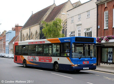 Stagecoach 33059 (407DCD), West Street, Chichester, 26th July 2011
