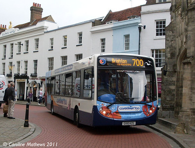 Stagecoach 27654 (GX10KZG), Chichester, 26th July 2011