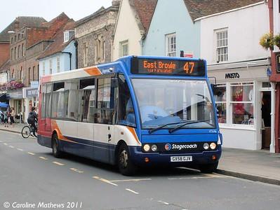 Stagecoach 47646 (GX58GJV), Chichester, 26th July 2011