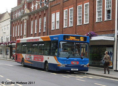 Stagecoach 33058 (418DCD), West Street, Chichester, 26th July 2011