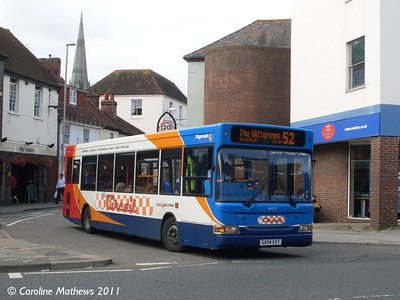Stagecoach 34523 (GX04EXT), South Street, Chichester, 26th July 2011
