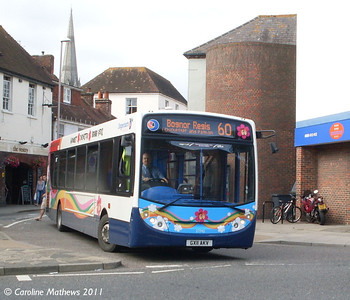 Stagecoach 27742 (GX11AKV), South Street, Chichester, 26th July 2011