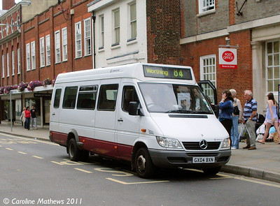 Compass Bus GX04BXN, West Street, Chichester, 26th July 2011
