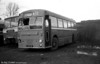 Formerly Crosville SMG451 (1231 FM), a 1963 Bristol MW6G/ECW B41F. Seen here, the vehicle was dumped at the premises of Silcox Motors, Pembroke Dock, who acquired it in 1979.