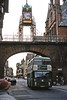 Another view of the Eastgate Clock, Chester, with Bristol VRT/ECW H43/31F DVG466 (WTU 466W).