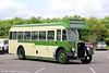 Crosville  KG131 (KFM 893), a 1950 Bristol L5G/ECW B35R at Toddington, Gloucestershire Warwickshire Railway, on 25th May 2014.