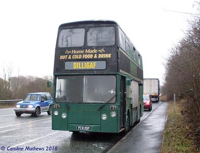 PCW115P, A66 near Cockermouth,  25th February 2010