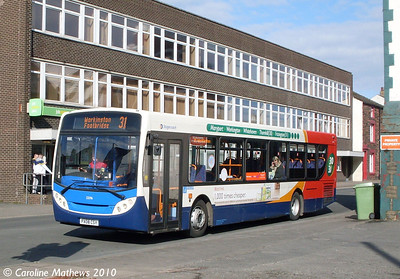 Stagecoach 22596 (PX08CSY), Workington, 9th March 2010