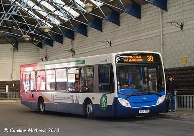 Stagecoach 22598 (PX08CTE), Workington, 9th March 2010