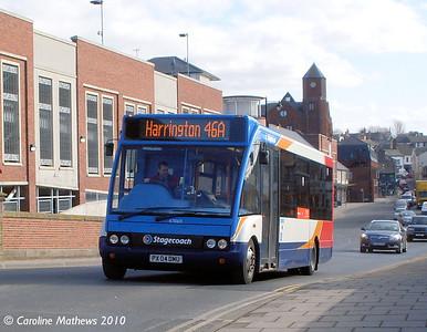 Stagecoach 47060 (PX04DMU), Workington, 9th March 2010