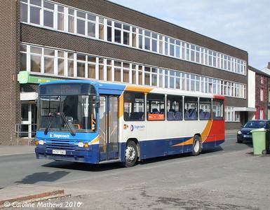 Stagecoach 20757 (K757DAO), Workington, 9th March 2010