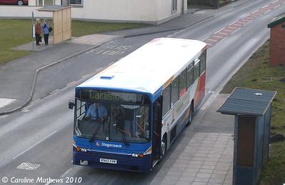 Stagecoach 20943 (R943XVM), Flimby, 9th March 2010