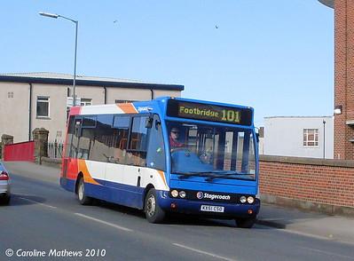 Stagecoach 47005 (KX51CSO), Workington, 9th March 2010