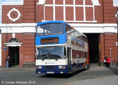 Stagecoach 16653 (R253NBV), Workington, 9th March 2010