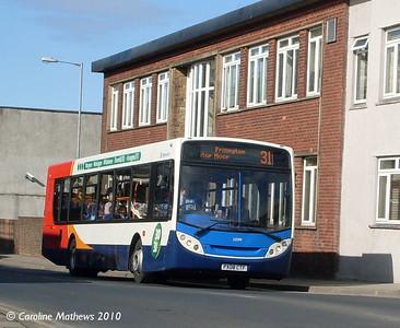 Stagecoach 22599 (PX05CTF), Workington, 9th March 2010