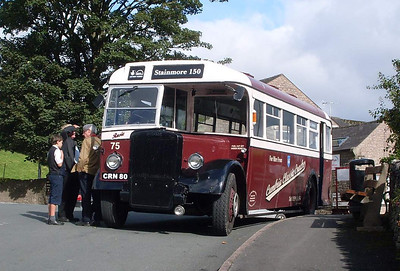 Cumbria Classic Coaches CRN80, Kirkby Stephen, 28th August 2011