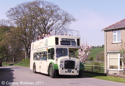 Cumbria Classic Coaches 627HFM, Eden Valley Railway, Warcop, 24th April 2011