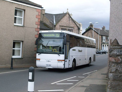 Classic Coaches OSU985, Kirkby Stephen, 28th August 2011