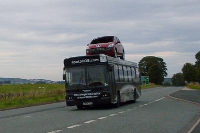 CN04XCK, A6 near Shap, 26th August 2011