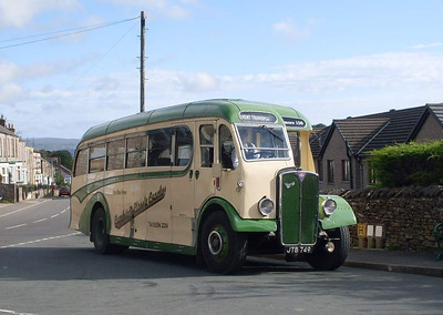 Cumbria Classic Coaches JTB749, Kirkby Stephen, 29th August 2011