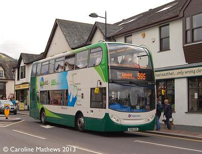Stagecoach 15729 (PX61CVK), Keswick, 31st August 2013