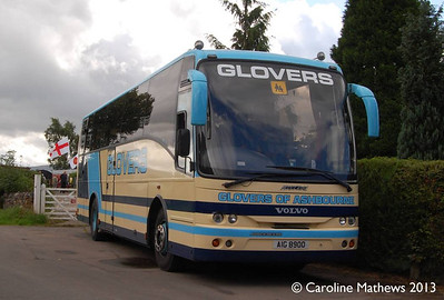 Glovers AIG8900, Warcop Station, 18th August 2013