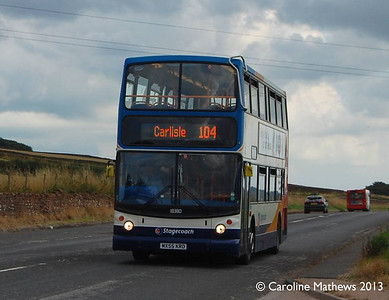 Stagecoach 18380 (MX55KRO), A6, 22nd August 2013