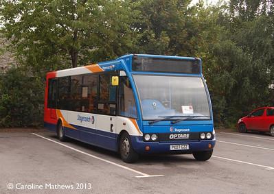 Stagecoach 47474 (PX07GZZ), Keswick, 31st August 2013